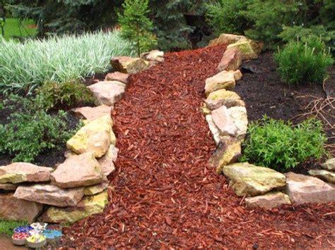 finish your garden with decorative bark love the garden