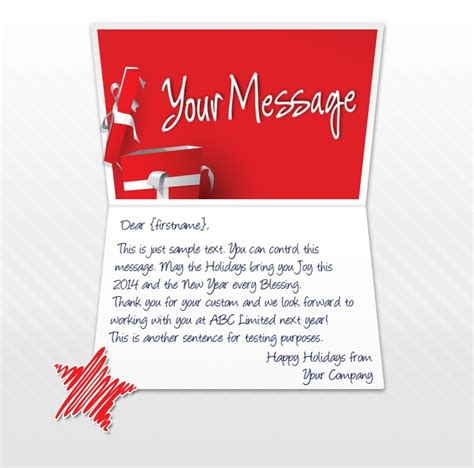 happy holidays from company card template ecards for business electronic cards