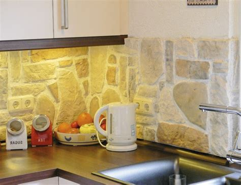 Wand Steinoptik Wohnzimmer by Steinoptik Wand 20 Erfinderische Ideen Architektur