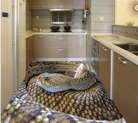 3d Floor by Aliexpress Com Buy Creative 3d Stereoscopic Floor Snake