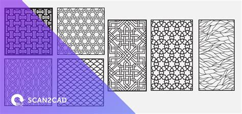 pattern dwg download ornamental patterns free dxf files