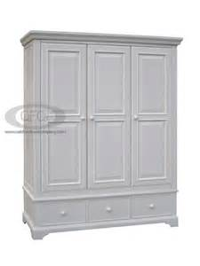 aspen wardrobe with drawers white painted