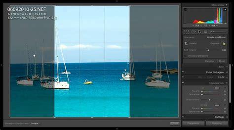 tutorial edit gambar guna lightroom tutorial lightroom come ruotare e ritagliare le foto