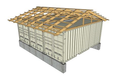 a frame roof roof plans tin can cabin