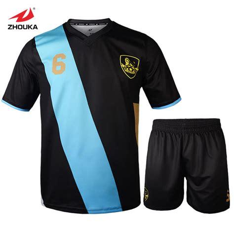 design jersey football aliexpress com buy zhouka latest design football uniform