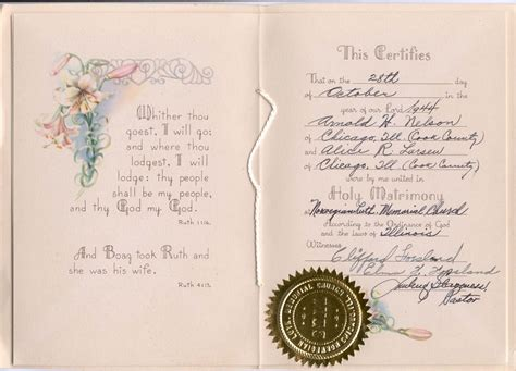 Marriage Records Chicago Connie Nelson S Genealogy Marriage Records Index