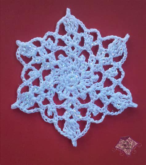 snowflake knitting pattern free crocheted snowflake motif by carolyn calderon free