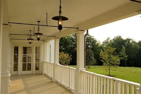 Farmhouse Outdoor Lighting Farmhouse Outdoor Lighting Porch Farmhouse With Painted Ceiling Painted Ceiling Door