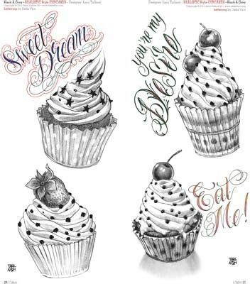 candy and cupcake tattoo designs collection of 25 cup cake designs