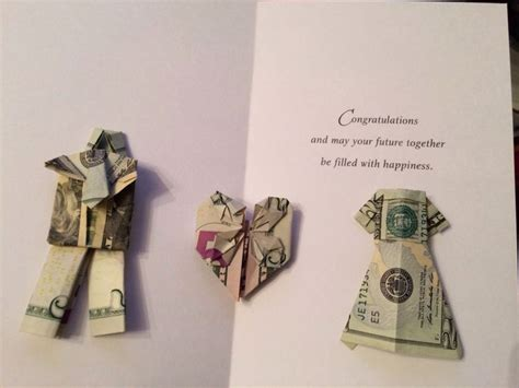 Money Origami Wedding Dress - origami money wedding gift wedding