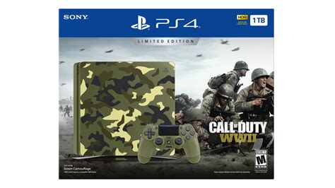 Kaset Ps4 Call Of Duty Wwii call of duty wwii un bundle ps4 d 233 voil 233 pour cet automne
