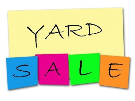 multi family yard sale this saturday may 9th north