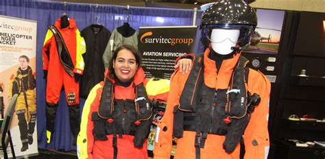 survitec group nz the marine and aviation safety specialists survitec debuts new survival suit general aviation news