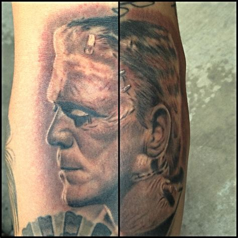 frankenstein tattoo by carlos macedo carlos macedo