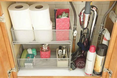 Organizing Bathroom Sink organizing bathroom sinks heartwork organizing