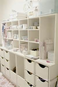 Storage Ideas For Craft Rooms - craft storage 1 just a smidgen