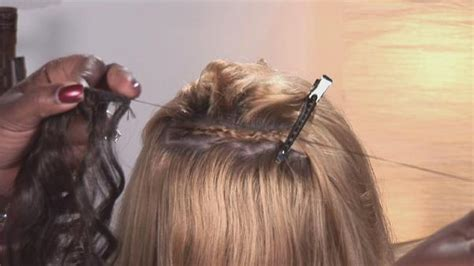 sewing in hair extensions at home best sew in hair extensions 2017 how to make and where to buy