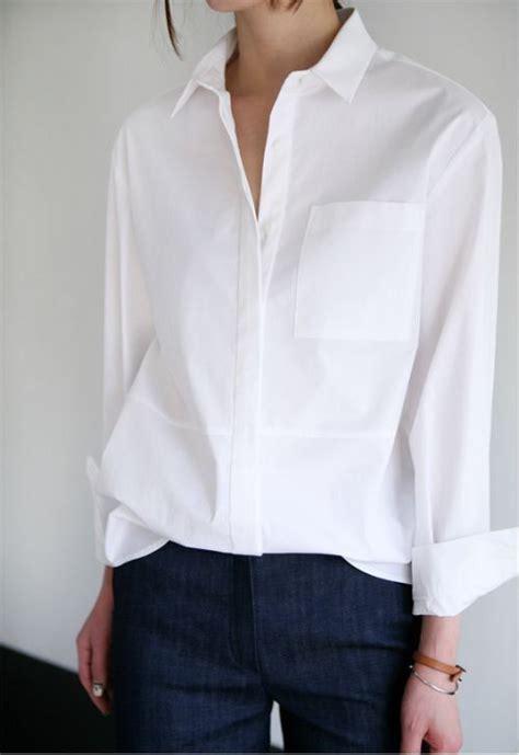 White Blous classic white shirt classics white