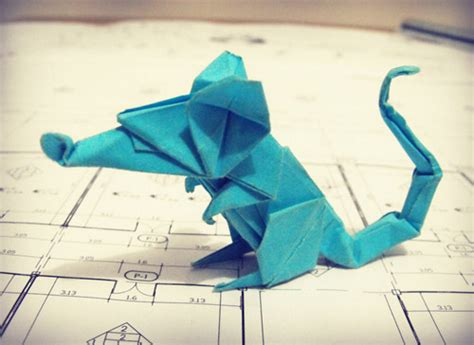 Origami Rat - origami the of designing and manufacturing masterpieces