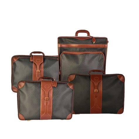 Gucci Set gucci vintage gg 4 luggage set luxity