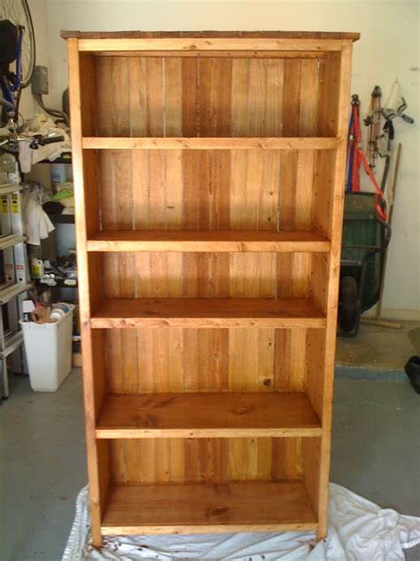 rustic bookcase plans wood plans