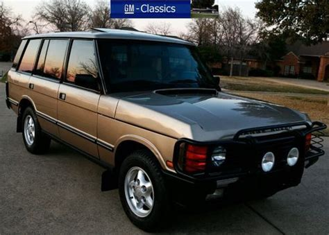 what country is range rover from sell used 1995 range rover classic lwb county all