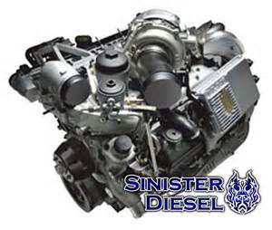 sinister diesel 6 0l powerstroke block