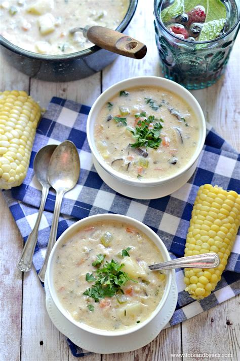 Do You Clam Chowder by Vegan Quot Clam Quot Chowder Fork And Beans