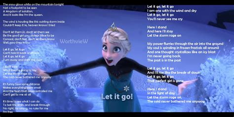 frozen film and songs songs lyrics archives worthview