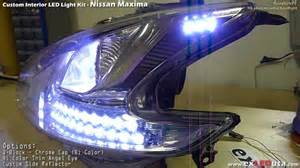 2010 Nissan Maxima Headlights Exledusa Nissan Maxima Led Custom Headlight