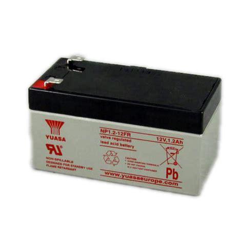 Batery Ups Yuasa Np 1 2 12 np1 2 12fr yuasa lead acid battery 12v 1 2ah