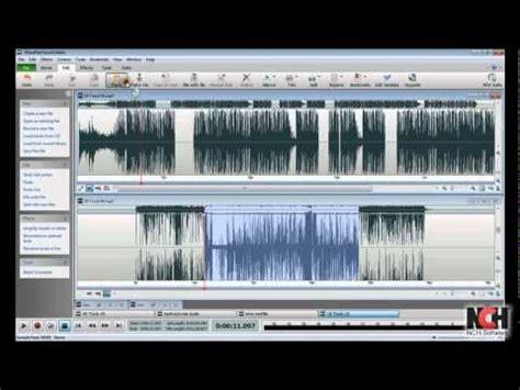 tutorial wavepad wavepad audio editing software intro to editing youtube