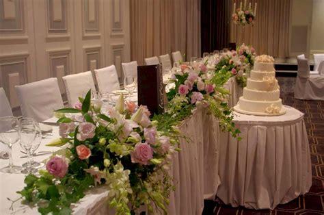 Bridal Floral Arrangements by Bridal Table Arrangements With Cascading Foliages Leanne