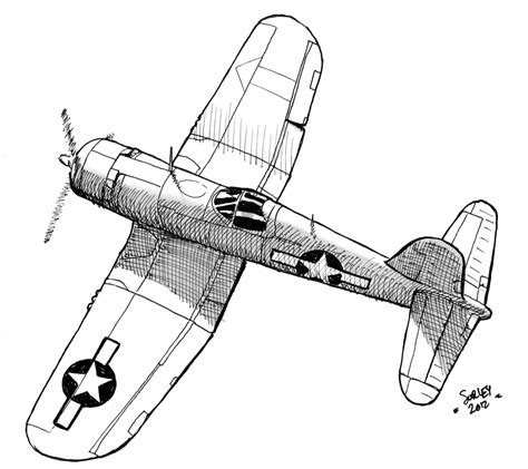 ww2 fighter plane coloring pages aero pinterest