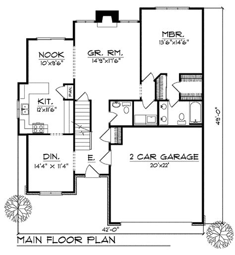 two story house plans with master on first floor loaded 2 story house plan 89612ah 1st floor master