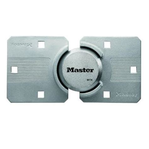 Shed Locks Home Depot by Master Lock Magnum Security Lock And Guarded Hasp M736xkadccsen The Home Depot
