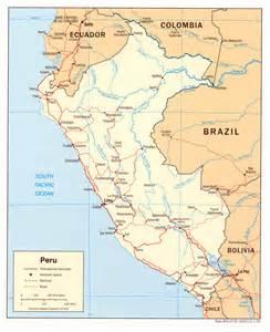 map of peru south america peru world map