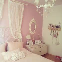 Cute dolly flowers girly interior japan love pastel pink room