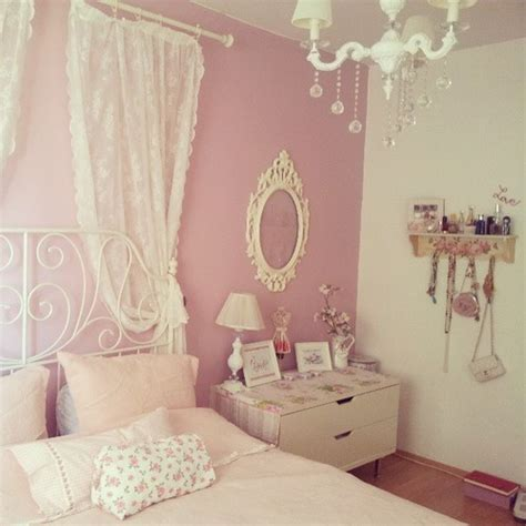 girly bedrooms bedroom girly pink image 783328 on favim