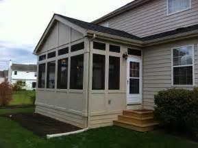 Garage Door Windows Kits by Screen Porches Columbus Oh Columbus Decks Porches And