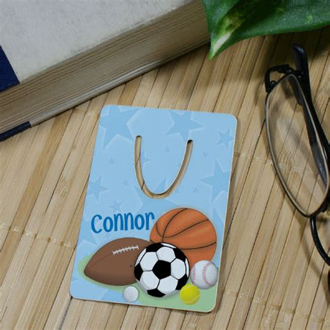 cheap gifts for sports fans personalized sports fan bookmark