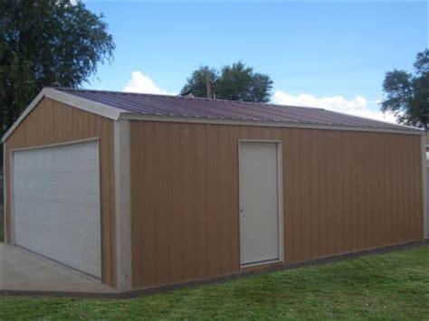 Steel Frame Shed Kits by 20 X 20 X 8 Steel Frame Shed Garage Building Kit