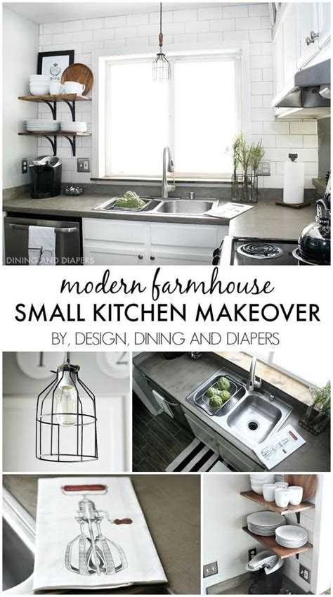 budget kitchen makeover ideas modern farmhouse modern farmhouse style and decorating