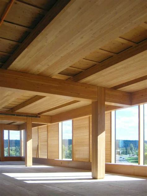 wood architecture experimental tall wood buildings material mass timber