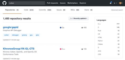 github milestones tutorial there are now 1 400 vulkan projects on github phoronix