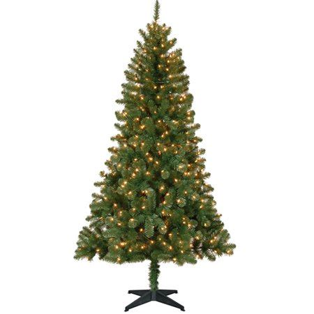 holiday time pre lit 65 madison pine white artificial christmas tree clear lights time pre lit 6 5 pine artificial tree clear lights walmart