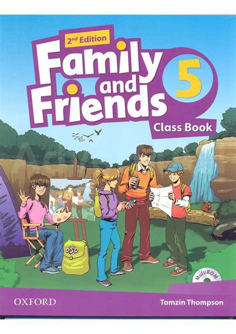 family and friends 5 2nd ed class book multirom ed oxford libroidiomas family and friends 2nd edition class book and multirom pack уровень 5 купить