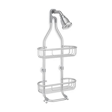 shower caddy bed bath and beyond interdesign 174 aluminum rustproof shower caddy bed bath beyond