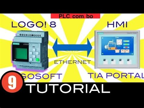 tutorial logo siemens logo 0ba8 and siemens hmi panel ktp400 basic doovi