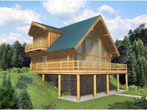 walkout basements a frame cabin kits a frame house plans with walkout